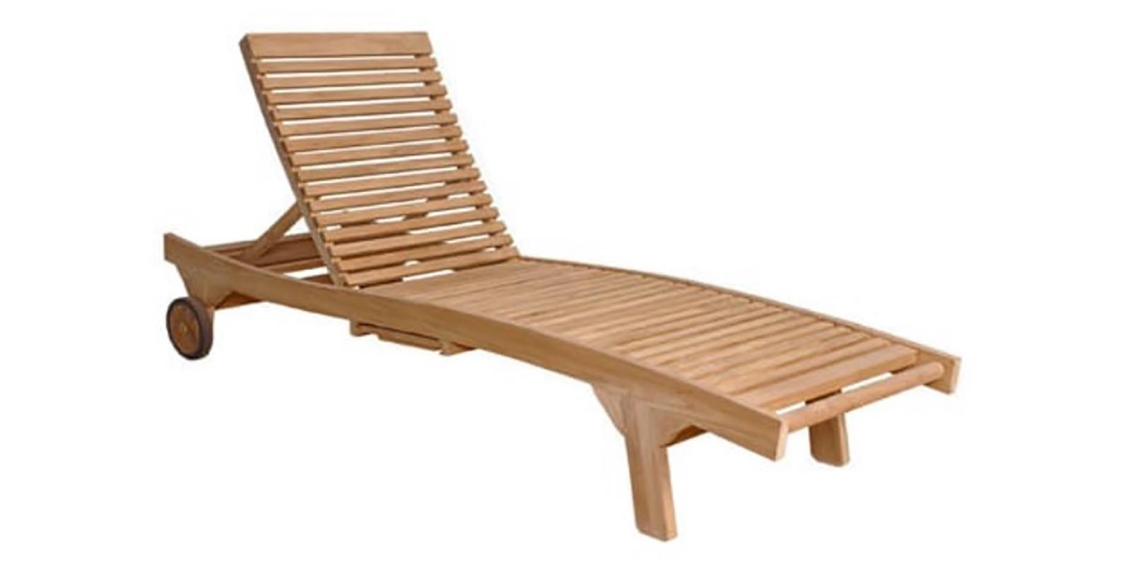 Bain de soleil en bois